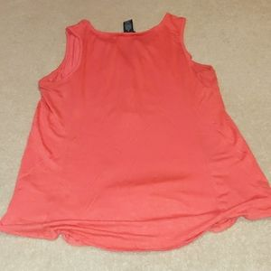 RXB Tops - Orange sleeveless blouse